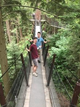 Boys what's up on bridge