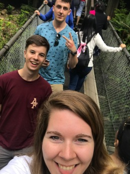 Selfie on bridge