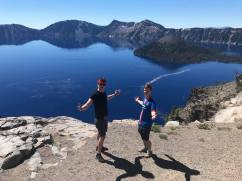 Boys what's up Crater Lake