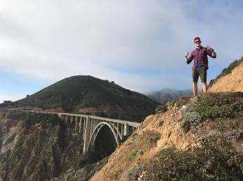 James at Bixby Bridge