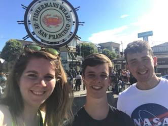 Selfie at Fisherman's Wharf