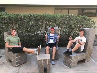 Boys at Pepperdine