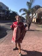 Glenn and his poncho
