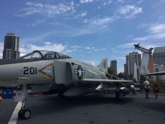 Plane on the USS Midway 2