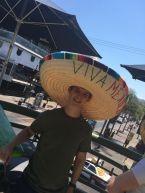 Sean in a Sombrero